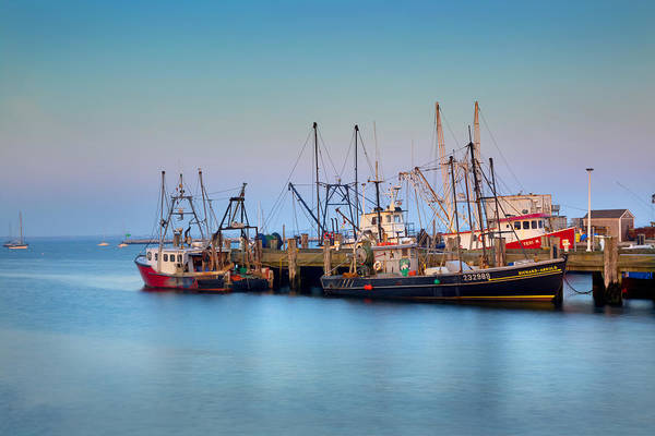 Provincetown Ma Wall Art - Photograph - At The Docks by Bill Wakeley