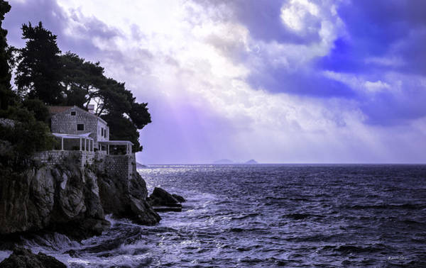 Dubrovnik Photograph - At The Edge Of Time - Dubrovnik by Madeline Ellis