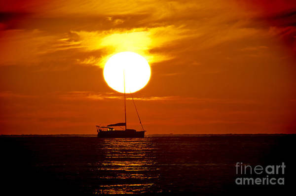 Tramonto Photograph - At The End Of The Day by Alessandro Giorgi Art Photography