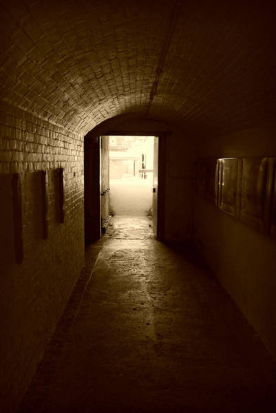 Photograph - At The End Of The Hall - Sepia by Marilyn Wilson