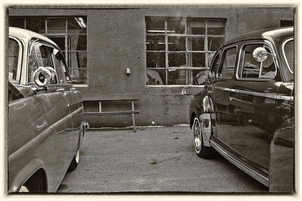 Ballston Spa Photograph - At The Garage by Julie Palyswiat
