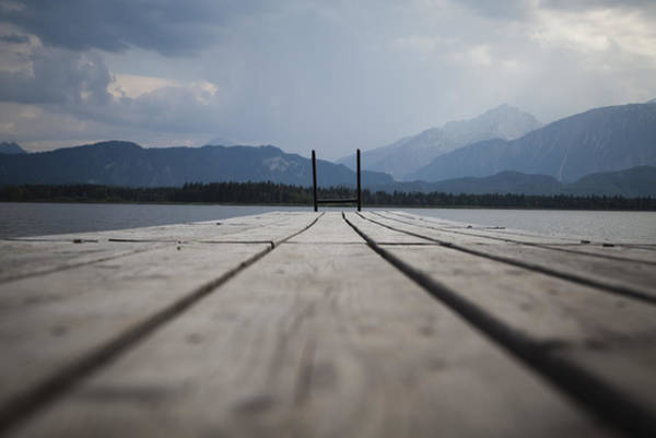 Photograph - At The Jetty by Maria Heyens