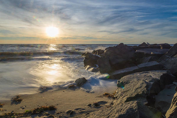 Cape May Wall Art - Photograph - At The Point by Kristopher Schoenleber