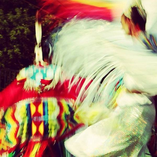 At The Pow Wow Art Print