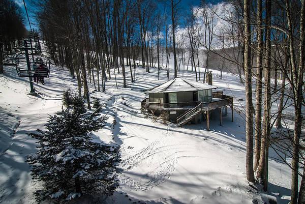 Photograph - At The Ski Resort by Alex Grichenko