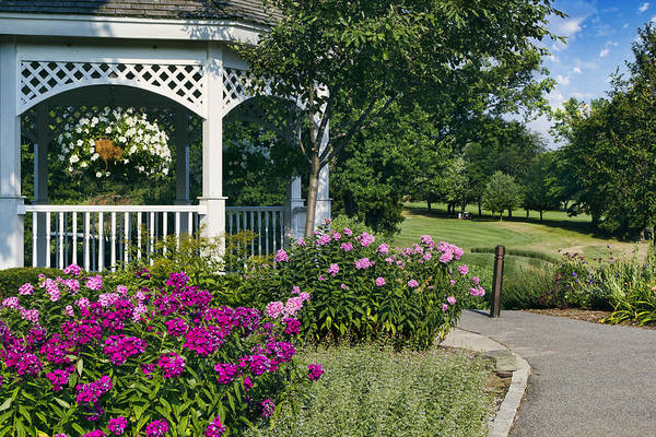 Gazebo Photograph - At The Turn by Peter Chilelli