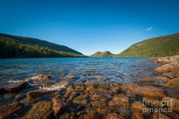Mike D Photograph - At The Waters Edge Jordan Pond by Michael Ver Sprill