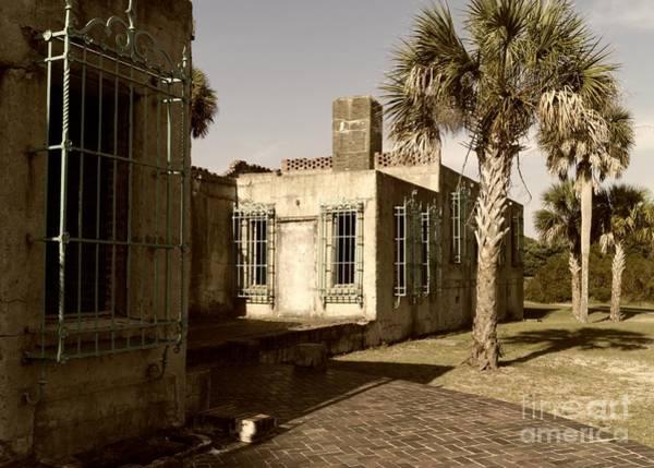 Photograph - Atalaya Estate Windows 2 Sepia by MM Anderson