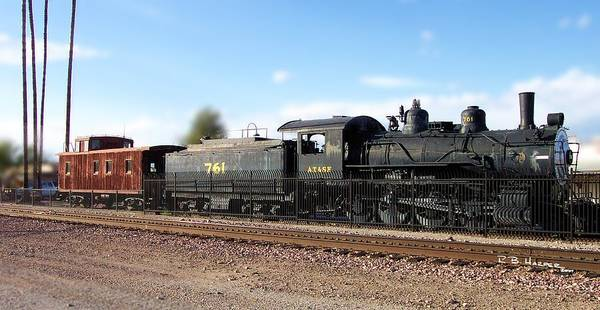 Photograph - Atcheson Topeka And The Santa Fe by R B Harper