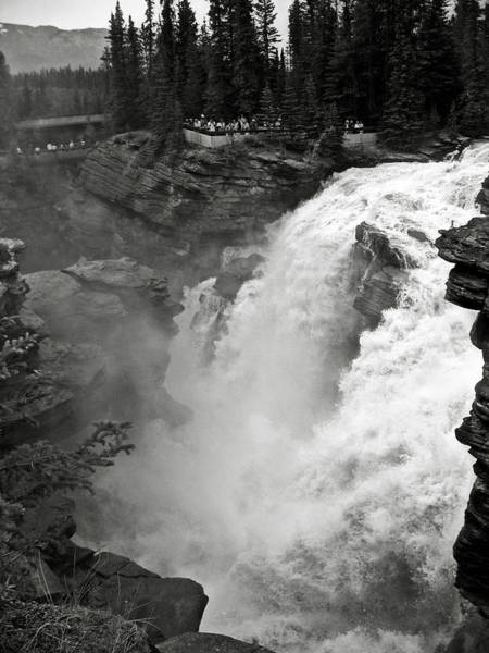 Photograph - Athabasca Falls by RicardMN Photography