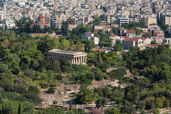 Grecian Photograph - Athens, Attica, Greece. The Doric by Panoramic Images