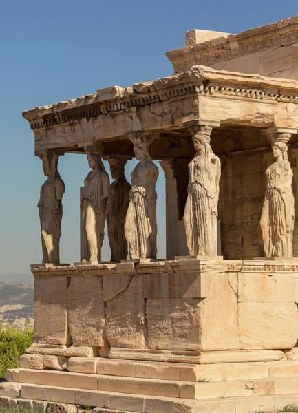 Erechtheion Photograph - Athens, Greece.  Acropolis by Ken Welsh