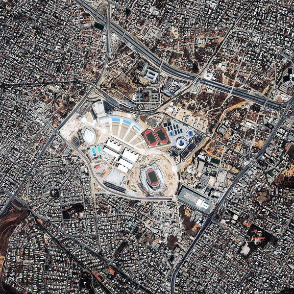 Olympics Photograph - Athens Olympics Sports Complex by Geoeye/science Photo Library
