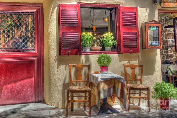 Taverna Photograph - Athens Taverna  by Rick Mann