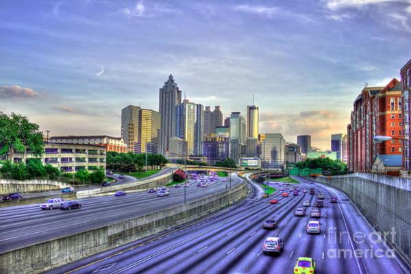 Georgia Power Company Photograph - Atlanta Capital Of Georgia by Reid Callaway