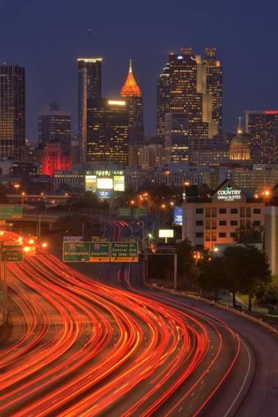 Fulton County Photograph - Atlanta by Christian Heeb