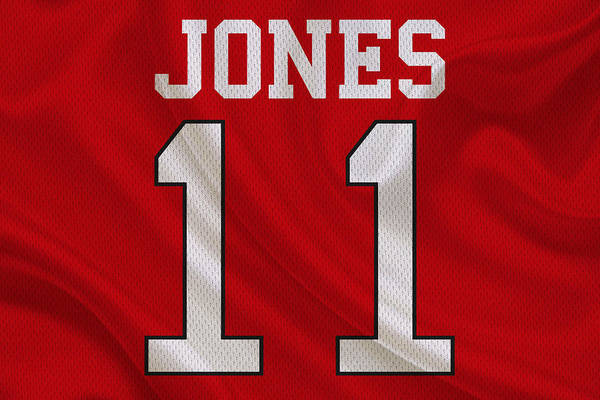 Julio Jones Wall Art - Photograph - Atlanta Falcons Julio Jones by Joe Hamilton