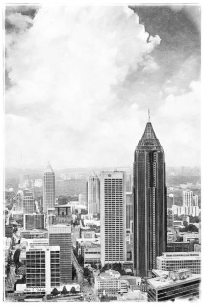 Photograph - Atlanta From Above by Mark Tisdale