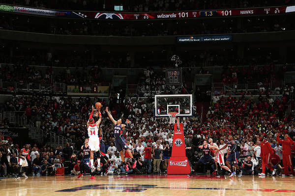 Photograph - Atlanta Hawks V Washington Wizards-game by Nathaniel S. Butler
