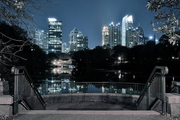 Wall Art - Photograph - Atlanta Invites You by Frozen in Time Fine Art Photography