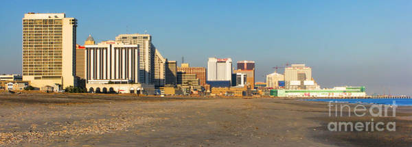 Atlantic City Photograph - Atlantic City At Sunset by Olivier Le Queinec
