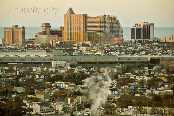 Mixed Media - Atlantic City by Trish Tritz