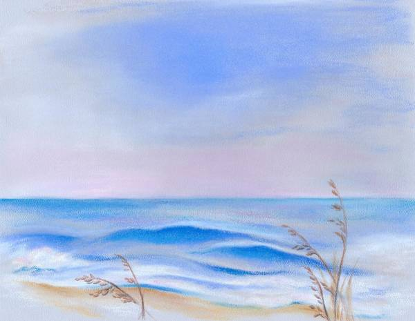 Pastel - Atlantic Evening by MM Anderson