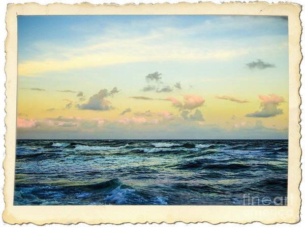 Photograph - Atlantic Ocean Florida Coast by Ginette Callaway