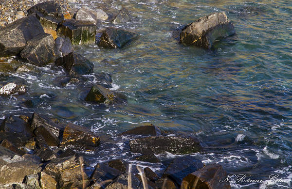 Photograph - Atlantic Ocean Maine by Natalie Rotman Cote