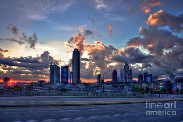 Atlanta Symphony Orchestra Photograph - Atlantic Station Midtown Atlanta by Reid Callaway
