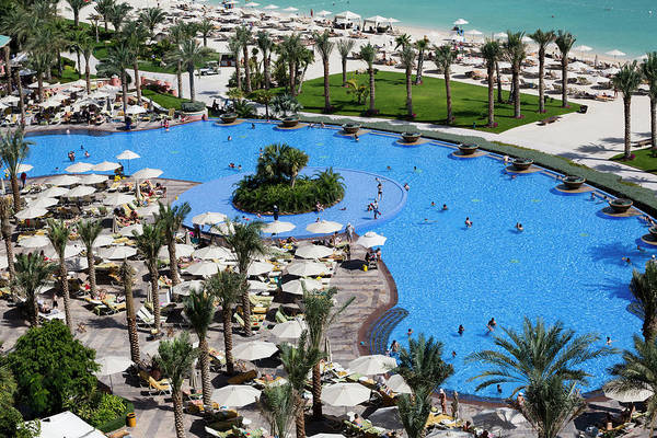 Luxury Hotel Photograph - Atlantis Hotel Dubai by Xu Jian