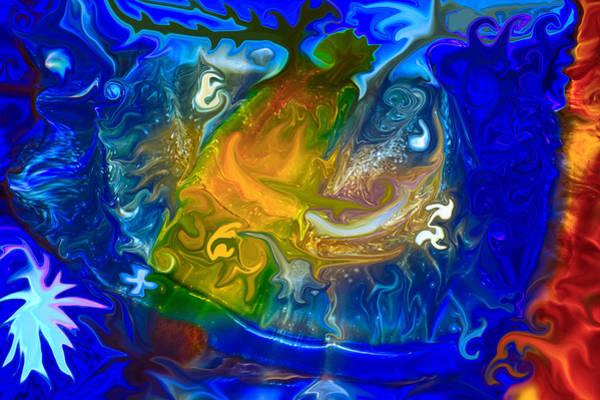 Painting - Atlantis by Omaste Witkowski