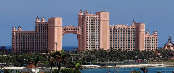 Photograph - Atlantis Paradise Island by Keith Stokes