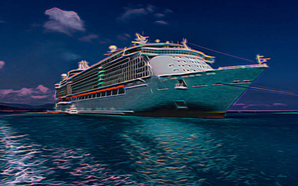 Photograph - Atlantis Tours Cruiseliner by John M Bailey