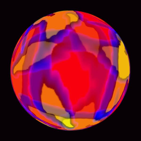 Photograph - Atlas Ball 802 by Jim Baker