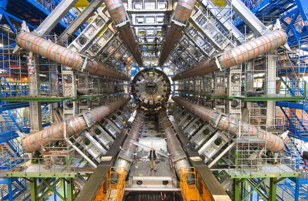 Wall Art - Photograph - Atlas Detector by Maximilien Brice, Cern/science Photo Library