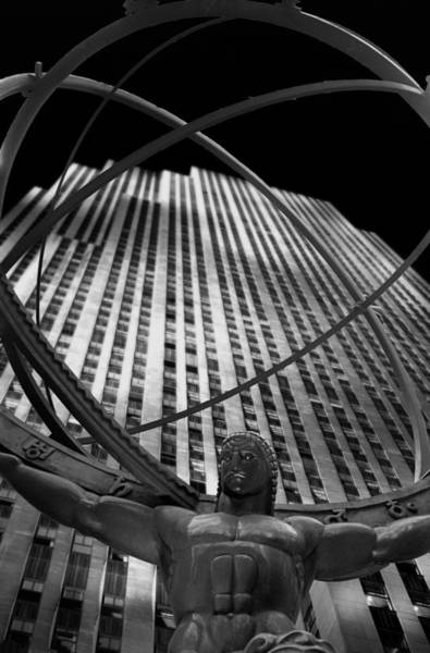 Atlas Rockefeller Center Art Print