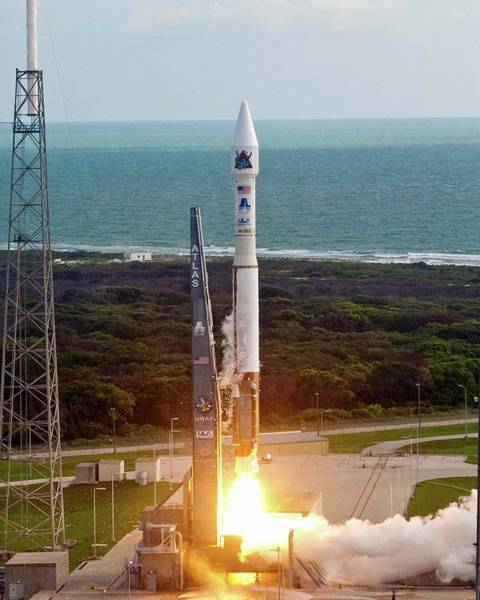 2010s Wall Art - Photograph - Atlas V Rocket Launch by National Reconnaissance Office