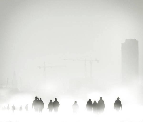 Crowds Wall Art - Photograph - Atmosphere by Piet Flour