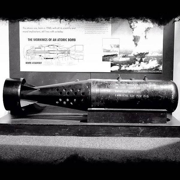 Weapon Photograph - Atomic Bomb At The Museum by Boris Mordukhayev