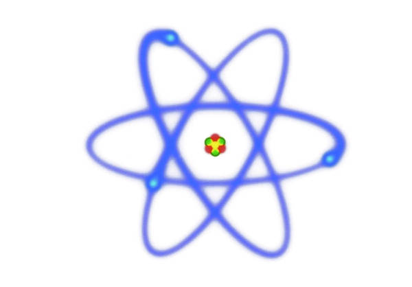 Proton Photograph - Atomic Structure by David Parker/science Photo Library