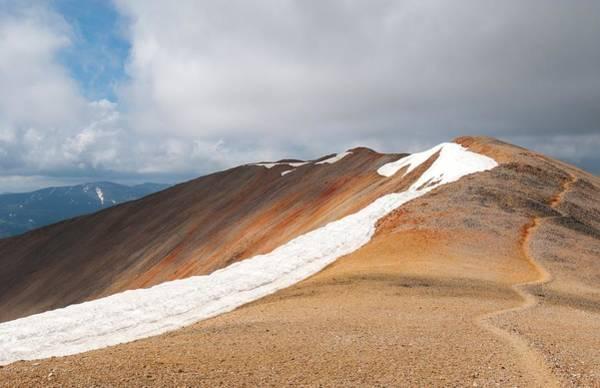 Photograph - Atop Redcloud Peak by Cascade Colors