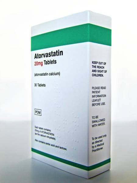 Package Wall Art - Photograph - Atorvastatin Drug Packaging by Ian Gowland/science Photo Library