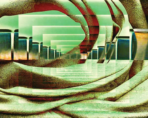 Wall Art - Digital Art - Atrium by Paula Ayers