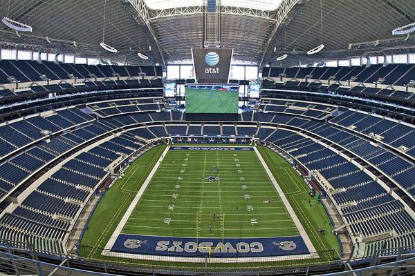 Dallas Cowboys Photograph - Att Or Cowboy Stadium by John Babis
