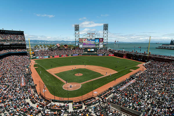 Photograph - Att Park On Mothers Day by Mark Whitt