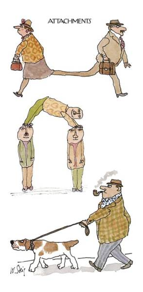 Single Drawing - Attachments by William Steig