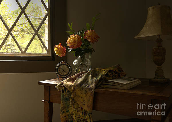Photograph - Attic Sanctuary by Terry Rowe