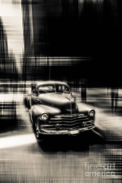 Photograph - attracting curves III gray by Hannes Cmarits