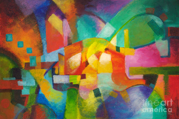 Painting - Attraction by Sally Trace